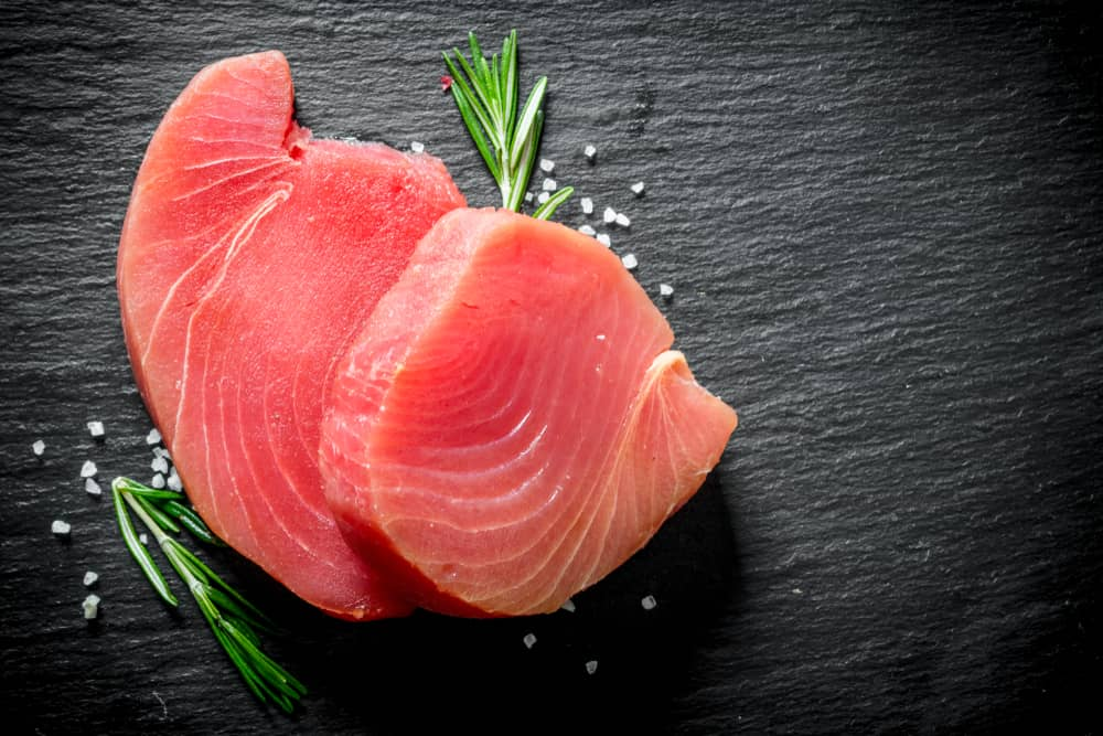 Tuna Fish on a Table