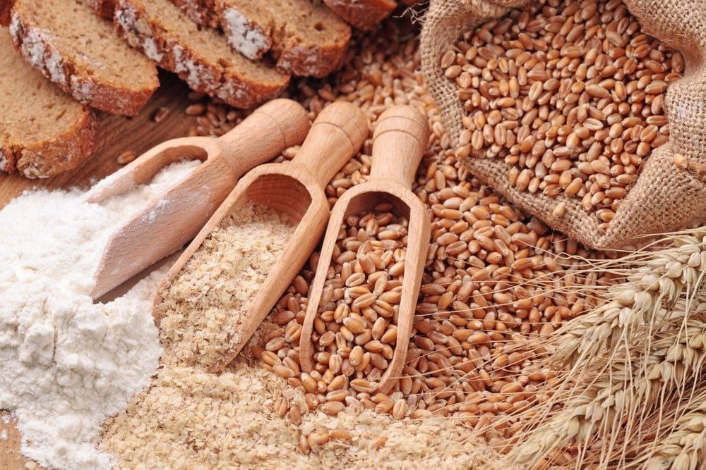 Wheat and Grains Together